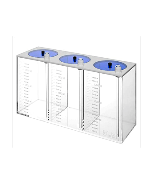 Acrylic Liquid Tanks triple