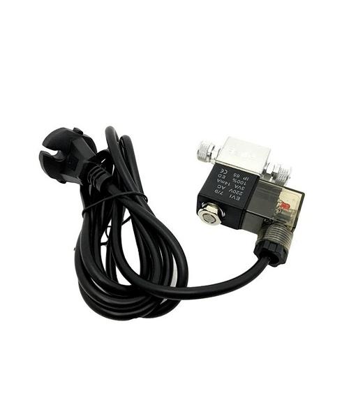 Vista de una cable de alimentación para el difusor Manorreductor CO2 Blau.