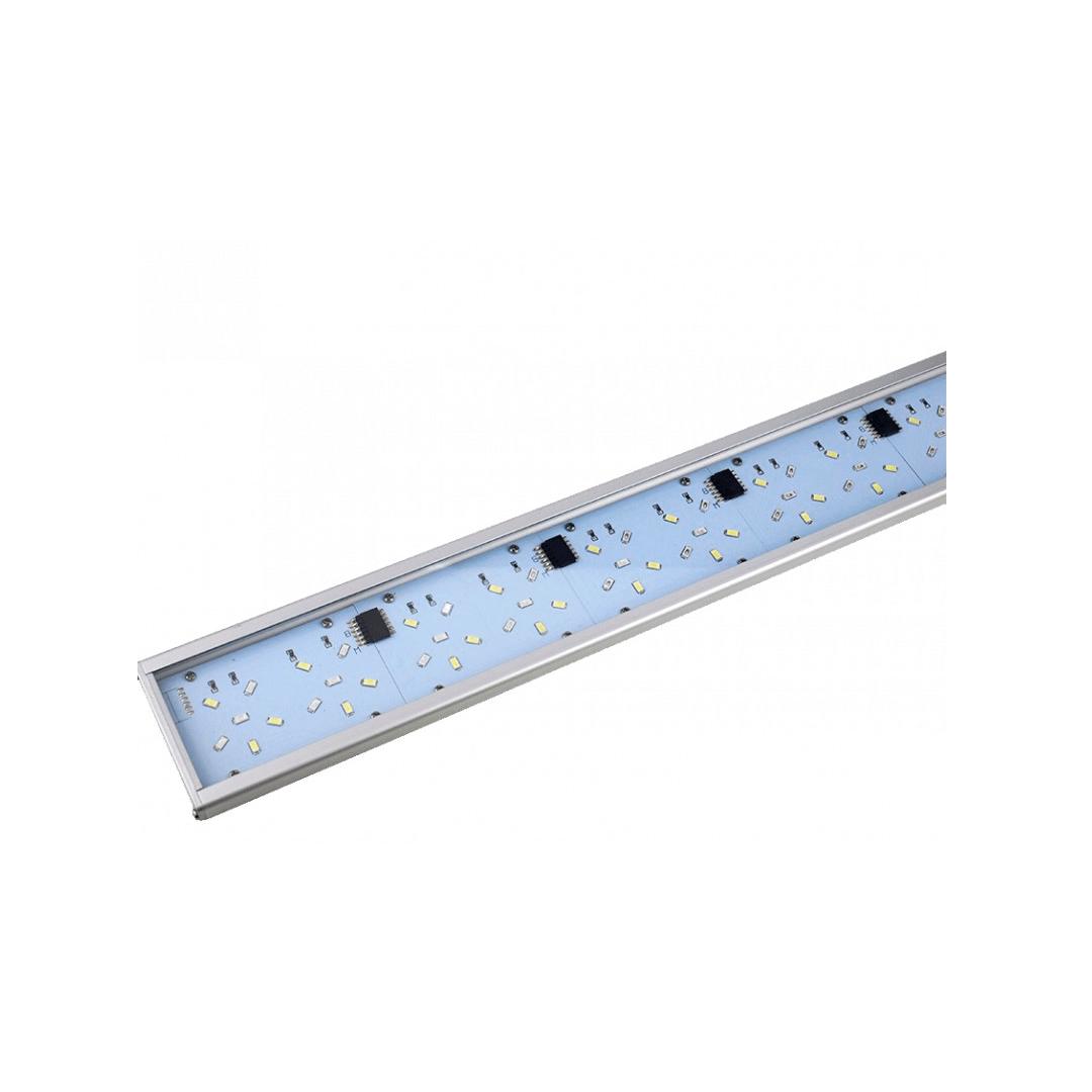 Vista una lámpara de iuminación Lumina: Luz para acuarios de bajo consumo.