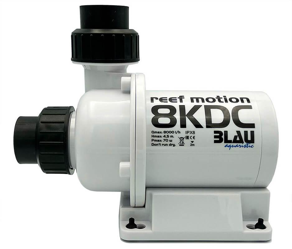 Vista de una bomba de recirculación Reef Motion 8KDC.