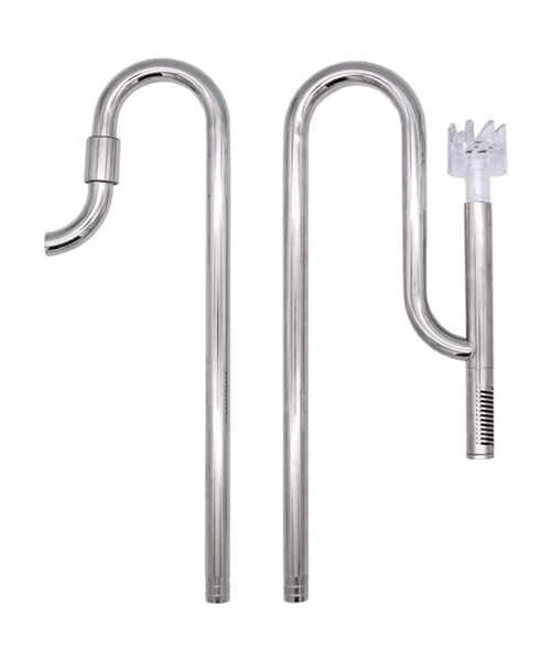 Stainless Inflow-Outflow Blau