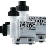 Vista de dos bombas de recirculación Reef Motion: 1.5KDC-2.3KDC.